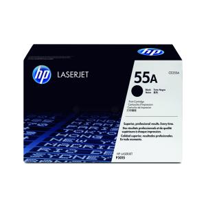 HP Toner schwarz für LJ P3015, bis zu 6000 Seiten