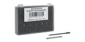 Graphtec Stahlmesser 0,9mm 45° für Flex- und Vinylfolien