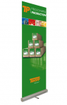 TECCO:PRODUCTION Roll-Up Display (61 cm x 5 m), 1 Rolle
