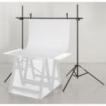 Foba Ständer für Tabletop Fotografie inkl. Tragtasche