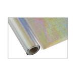 ONE Heissprägefolie - Weave Silver - Texturfarbe - 30 cm x 12 m