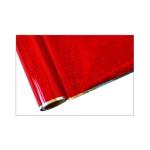 ONE Heissprägefolie - Glitter Red - Texturfarbe - 30 cm x 12 m