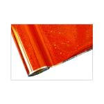 ONE Heissprägefolie - Glitter Orange - Texturfarbe