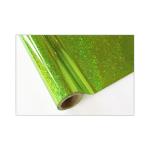 ONE Heissprägefolie - Glitter Kiwi - Texturfarbe