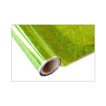 ONE Heissprägefolie - Confetti Kiwi - Texturfarbe - 30 cm x 12 m