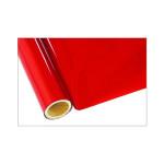 ONE Heissprägefolie - Carbon Fiber Red - Texturfarbe 30 cm x 12 m