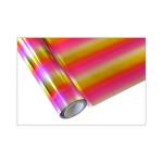 ONE Heissprägefolie - Multi-Bars Pink - Texturfarbe - 30 cm x 12m