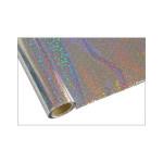 ONE Heissprägefolie - Bubbles Silver - Texturfarbe - 30 cm x 12 m