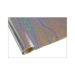ONE Heissprägefolie - Bubbles Silver - Texturfarbe