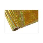 ONE Heissprägefolie - Bubbles Gold - Texturfarbe - 30 cm x 12 m