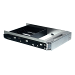 Stardom HDD Tray 2 x 2,5 Zoll mit Schutzbox