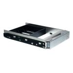 Stardom HDD Tray Silber mit Schutzbox