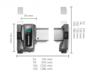 TECHKON SpectroDrive, Standardmaß 52