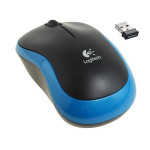 Logitech M185 Wireless Mouse, USB 2.0 blue/black