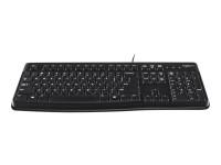Logitech K120 Tastatur, USB, schwarz - RETAIL