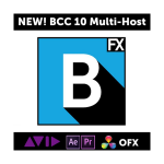 Boris FX BCC 10 MultiHost II Upgrade von v1-8