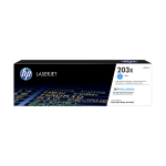 HP Toner cyan 203X Color LaserJet Pro MFP M280nw 2500 Seiten