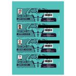 AppFactory Expert PET Film, weiss matt- Ausweis , 260g/qm,A4,100