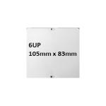 AppFactory Expert PET Film, weiss matt - Pflanze, 260g/qm,A4, 100