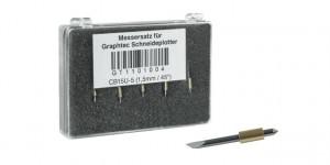Graphtec Stahlmesser 1,5mm 45° für Medien 0,25 - 0,8mm