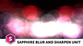 Boris FX Sapphire Blur and Sharpen Unit