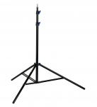 HENSEL Alu-Klappstativ III schwarz, luftgedämpft, 62-210 cm