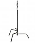 """HENSEL C-Stand 30"""" mit beweglichem Fuß, silber, 100-250 cm"""