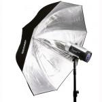 HENSEL Master PXL silber, parabolischer Blitzschirm, Ø 135 cm