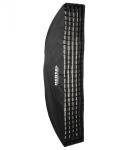 HENSEL Softbox E 30 x 160 cm mit Stoffwabe