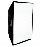 HENSEL Softbox E 80 x 100 cm mit Stoffwabe