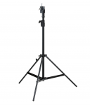 HENSEL Stahl-Klappstativ, 118-216 cm, schwarz, bis 30 kg