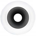 HENSEL Standard-Reflektor RF, mit Deflektor weiß, inkl. Wabe