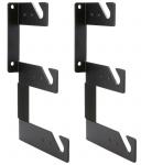 HENSEL Wand-/Deckenhalter, 1 Paar, mit abgestuften Konsolen