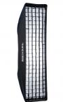 HENSEL Stoffwabe für Stripbox 30 x 120 cm