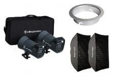 Elinchrom Bundle: ELC 500/500 TTL & Softbox Kit & Snaplux Adapter