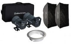Elinchrom Bundle: ELC 125/500 TTL & Softbox Kit & Snaplux Adapter