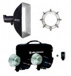 Elinchrom Bundle: ELC Pro 1000 & Rotalux Squarebox 70 & Speedring