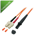 LWL-Kabel SC/MT-RJ 50/125µ Duplex 3m