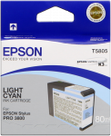 Epson Tinte light cyan für Epson 3800/3880 - 80 ml
