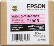 Epson Tinte vivid light magenta für Epson 3880 - 80 ml