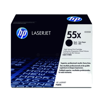 HP Toner schwarz für LJ P3015, bis zu 12500 Seiten