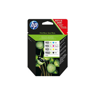HP Tinte Valuepack No.950XL/951XL bk/c/m/y f. Office Jet Pro 251