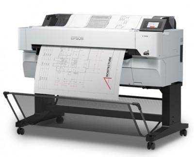 Epson SureColor SC-T5400M - integrierter Scanner