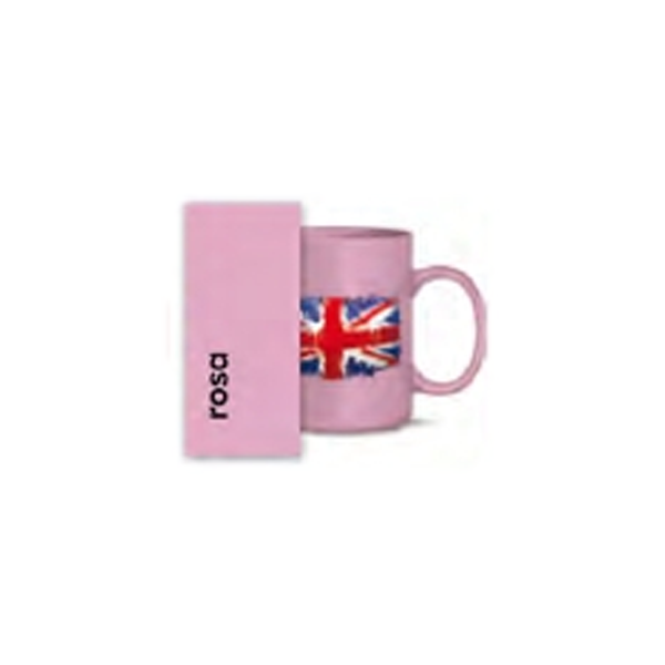 Keramiktasse rosa für Tonertransfer - 36 Stk./Karton