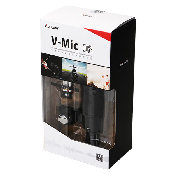 Aputure V-Mic D2 Richtmikrofon für VDSLR