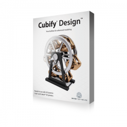 3D Systems CUBIFY DESIGN SOFTWARE WINDOWS Box