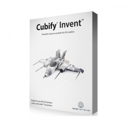 3D Systems CUBIFY INVENT SOFTWARE WINDOWS BOX