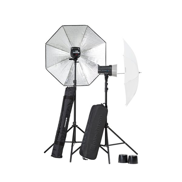 Elinchrom D-Lite RX 2/2 Umbrella to go Set