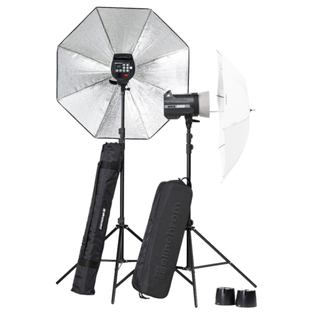 Elinchrom BRX 250/250 Umbrella to go Set