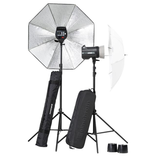 Elinchrom BRX 250/250 Umbrella to go Set